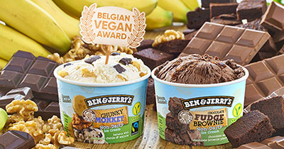 Ben & Jerry's Non-Dairy Chunky is voted as product of the year 2018