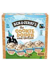Flavor Detail Page - The Cookie Dough Cool-lection