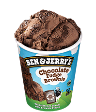 Chocolate Fudge Brownie Original Ice Cream Pints