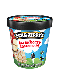 Strawberry Cheesecake Original Ice Cream Pints