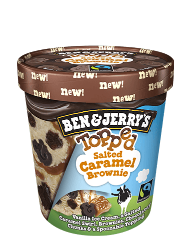 Salted Caramel Brownie Pint